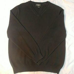 Eddie Bauer Mens V Neck Sweatshirt